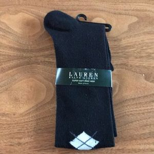 NWT Ralph Lauren knee-high socks